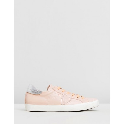 Paris Sneakers Veau Rose by Philippe Model