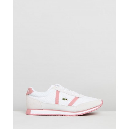 Partner - Women's White & Pink by Lacoste