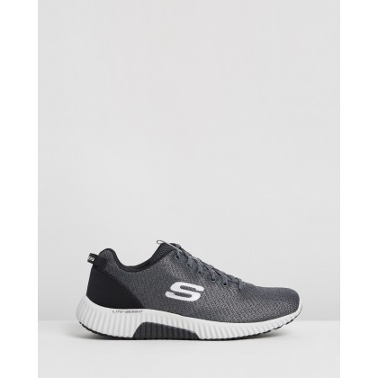 Paxmen - Wildespell - Men's Charcoal & Black by Skechers