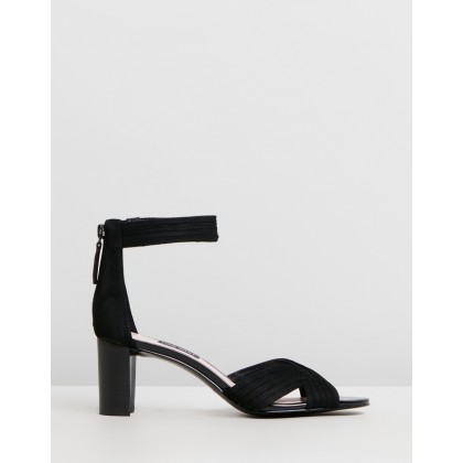 Pearl Black Suede & Patent by Nine West