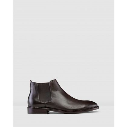 Pellegrini Chelsea Boots Brown by Aquila