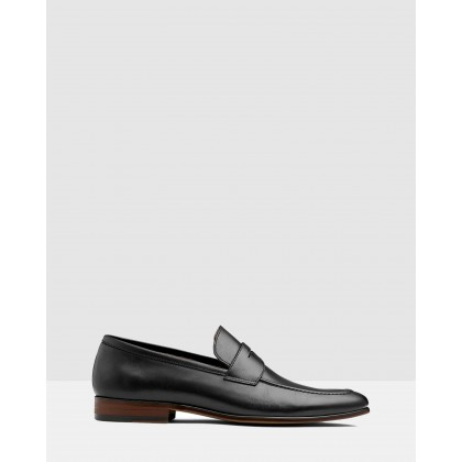 Penley Loafers Black by Aq By Aquila