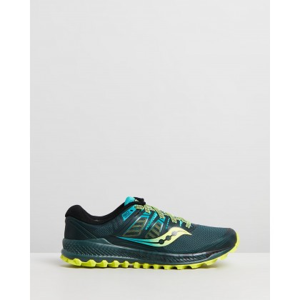 Peregrine ISO - Men's Green & Teal by Saucony