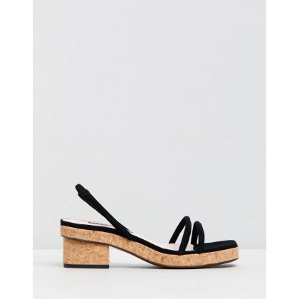 Perfect Sandals Black by Alexachung