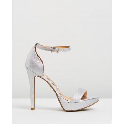 Phoebe Heels Silver by Vizzano