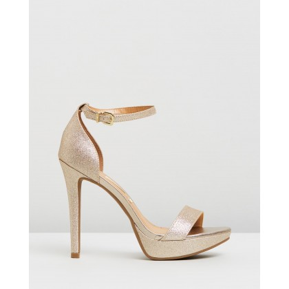 Phoebe Heels Gold by Vizzano