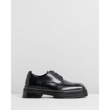Phoenix - Men's Black Leather by Eytys