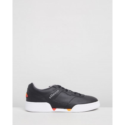 Piacentino 2.0 Sneakers Black & Grey by Ellesse