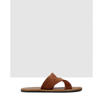 Piero Sandals Brown by Brando