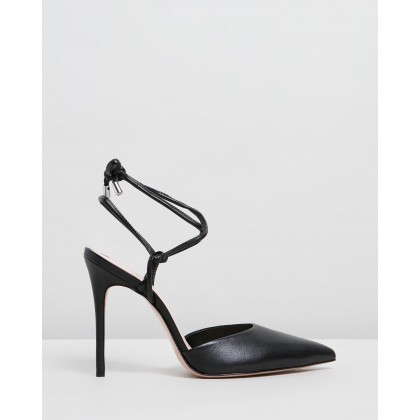 Point Toe Heels Black by Schutz