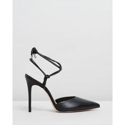 Point Toe Heels Black by Schutz