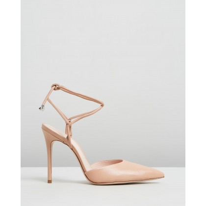 Point Toe Heels Nude by Schutz