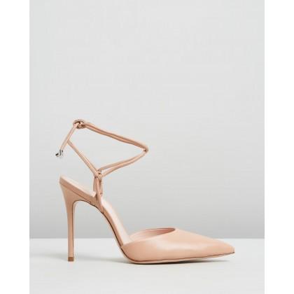 Point Toe Heels Nude by Schutz