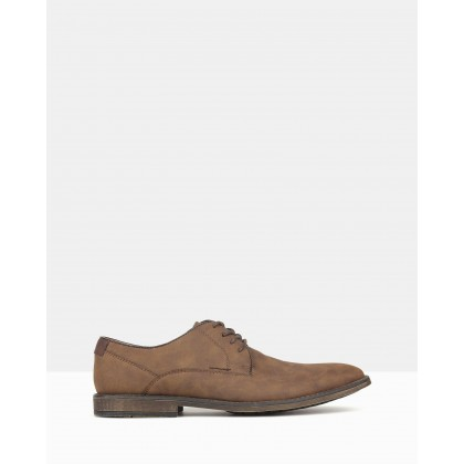 Power Lace Up Dress Shoes Tan by Betts