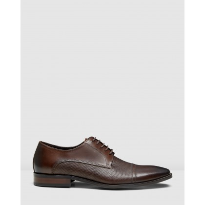Pratt Lace Ups Brown by Aquila