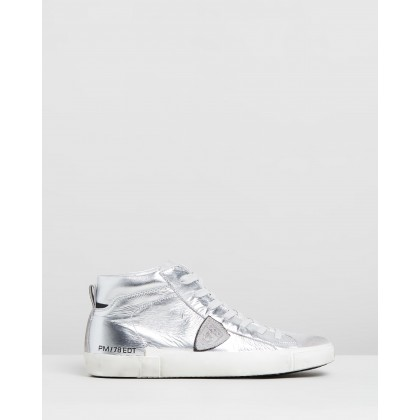 PRHD Sneakers Metallic Silver by Philippe Model