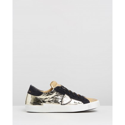 PRLD Sneakers Gold Mirror by Philippe Model