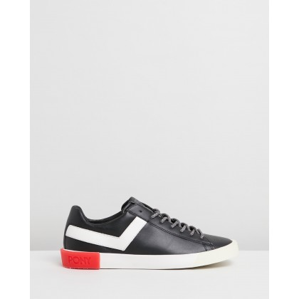 Pro Corpo Sneakers Black & Cloud Dancer by Pony