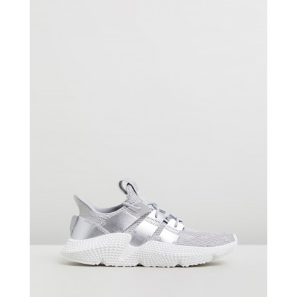 Prophere - Women's Grey Two, Silver Met & FTWR White by Adidas Originals