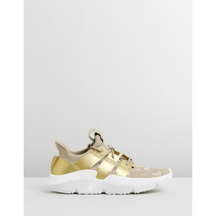 Prophere - Women's Raw Gold, Gold Met & FTWR White by Adidas Originals