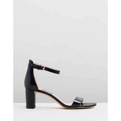 Pruce Black Leather by Nine West