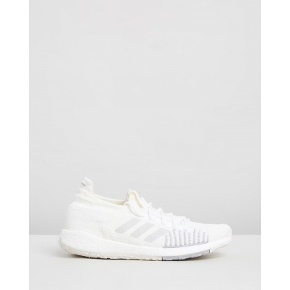 PulseBOOST HD - Men's Core White & Grey by Adidas Performance