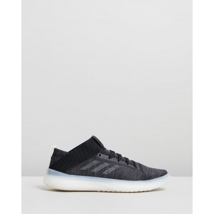 PureBOOST Trainers - Men's Core Black, Grey Four & Carbon by Adidas Performance