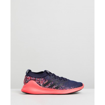 Purebounce+ - Men's Legend Ink & Shock Red by Adidas Performance