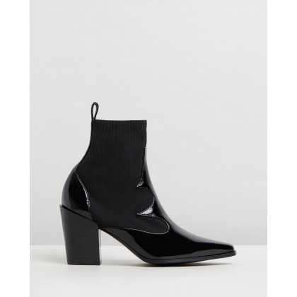 Quentin Boots Ebony by Senso