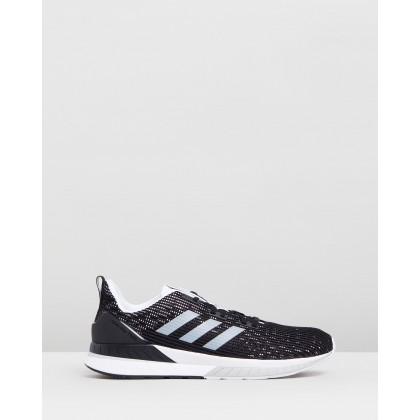 Questar TND - Men's Core Black, Feather White & Grey by Adidas Performance