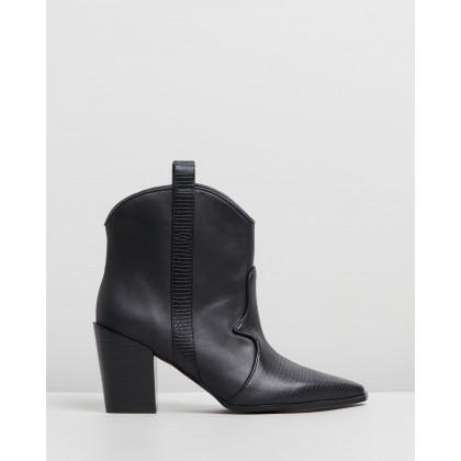 Quillan Boots Ebony by Senso