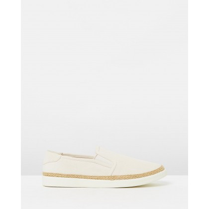 Rae Slip-On Sneakers Ivory by Vionic