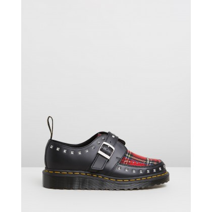 Ramsey Monk Smooth Black Stewart by Dr Martens