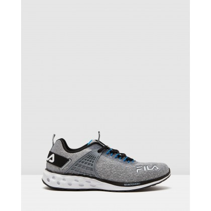 Rapidflash 19 Energized - Men's Grey/Black/White by Fila