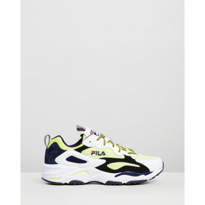 Ray Tracer - Men's Lemonade, White & Black by Fila