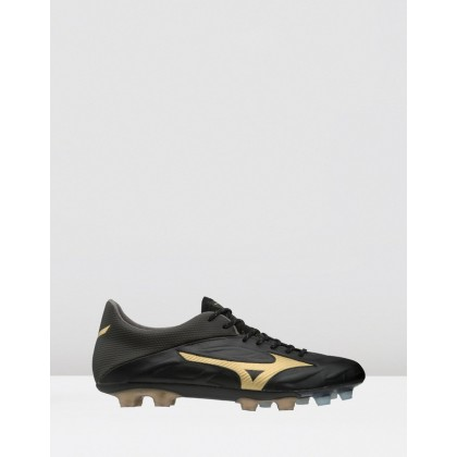 Rebula v1 - Men's Black / Gold by Mizuno
