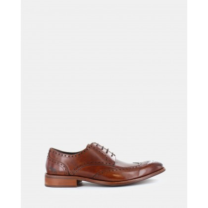 Redmond Dress Shoes Tan by Wild Rhino