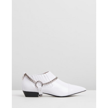 Reid White Patent Leather by Skin