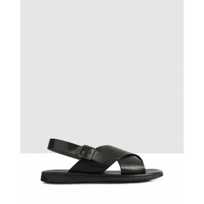 Ren Sandals Nero by Brando