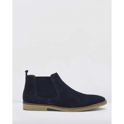 Renny Boots Navy by Oxford