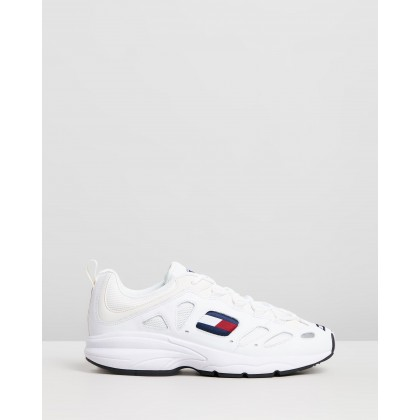 Retro Sneakers - Men's White by Tommy Jeans