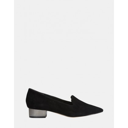 Rhapsody BLACK SUEDE by Jane Debster