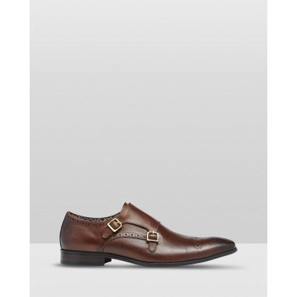 Richard Monk Shoes Brown by Oxford