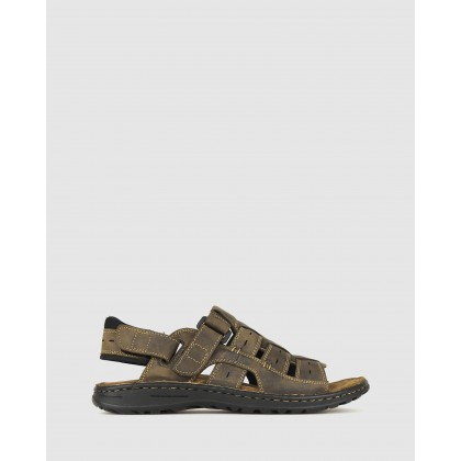 Rick Sports Sandals Brown by Airflex