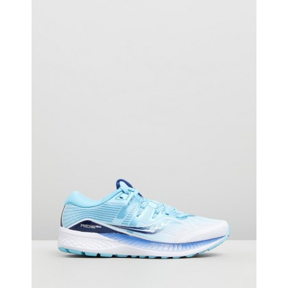 Ride ISO - Women's White & Blue by Saucony