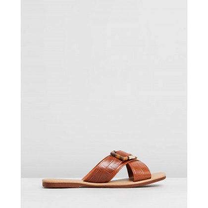 Rimini Tan Croc by Just Because