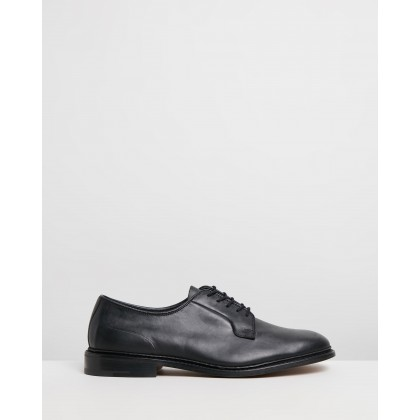 Robert Derby Shoes Olivvia Black Oily by Trickers