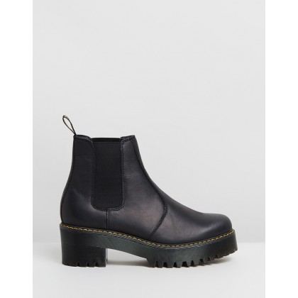 Rometty Chelsea Boots Black Wyoming by Dr Martens