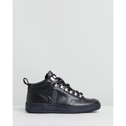 Roraima Black Graphite & Black Sole by Veja