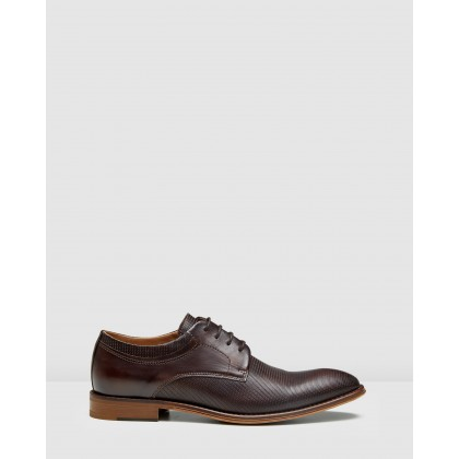 Rozier Lace Ups Brown by Aquila